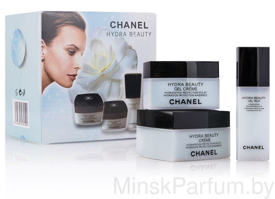 НАБОР КРЕМОВ 3в1 CHANEL HYDRA BEAUTY
