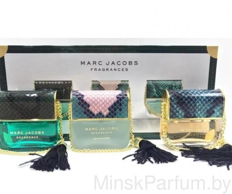 Подарочный набор Marc Jacobs Fragrances Decadence 3 х 25 ml
