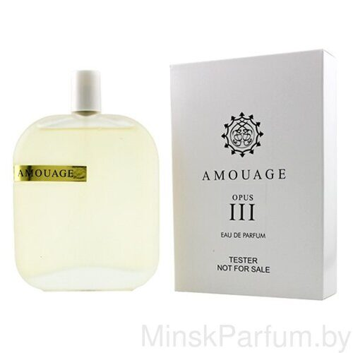 Amouage The Library Collection Opus III (Тестер)