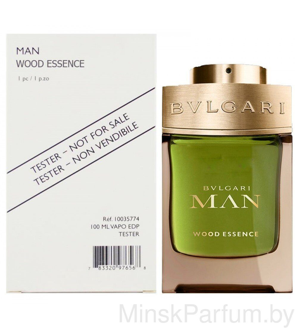 Bvlgari Man Wood Essence (Тестер)