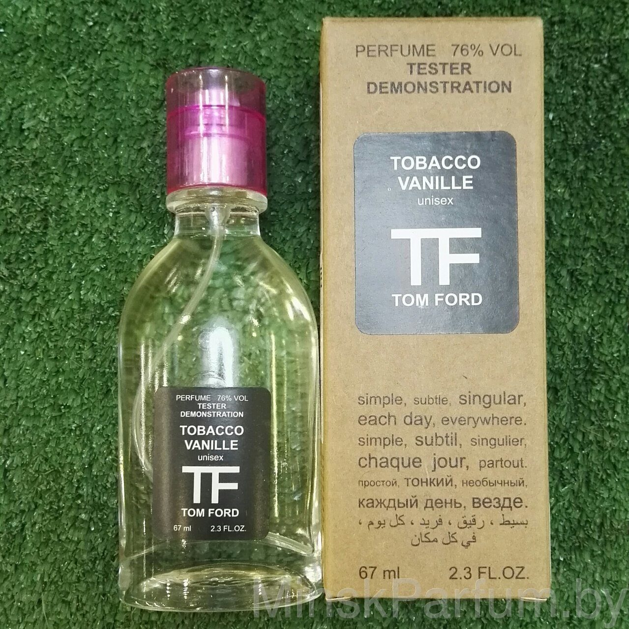 Tom Ford Tobacco Vanille (Тестер Natural Fr 67 ml)