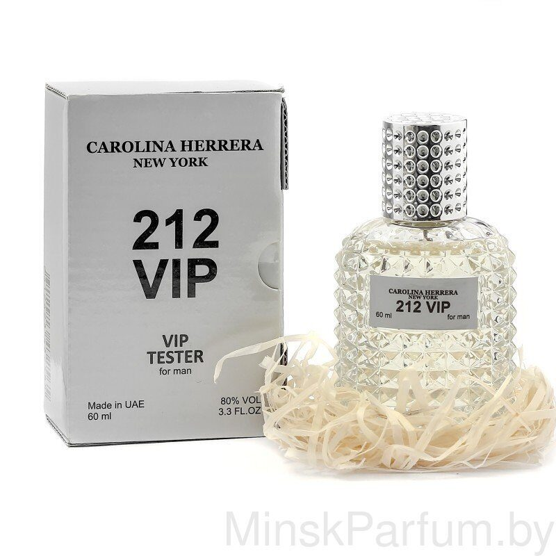 Carolina Herrera 212 VIP Men (Тестер VIP 60 ml)