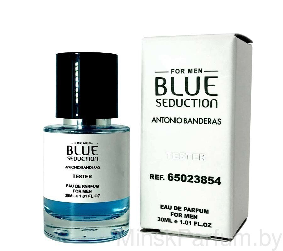 Antonio Banderas Blue Seduction For Men (Тестер Mini 30 ml)
