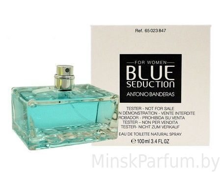 Antonio Banderas Blue Seduction for Women (Тестер)